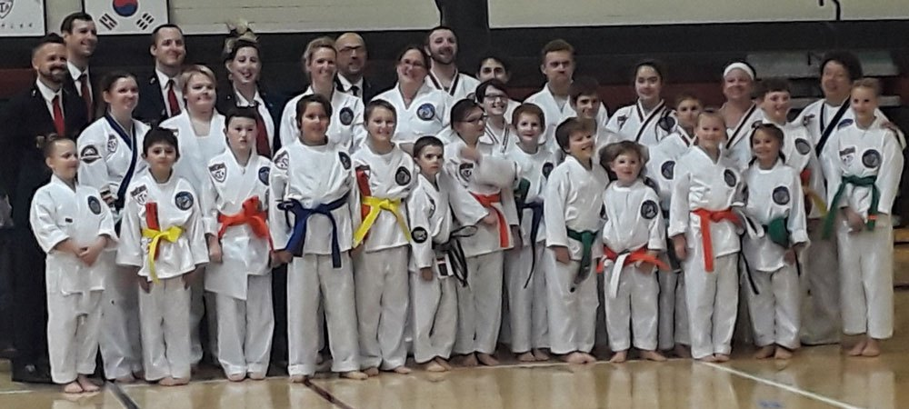 Rogers Family ATA martial Arts group